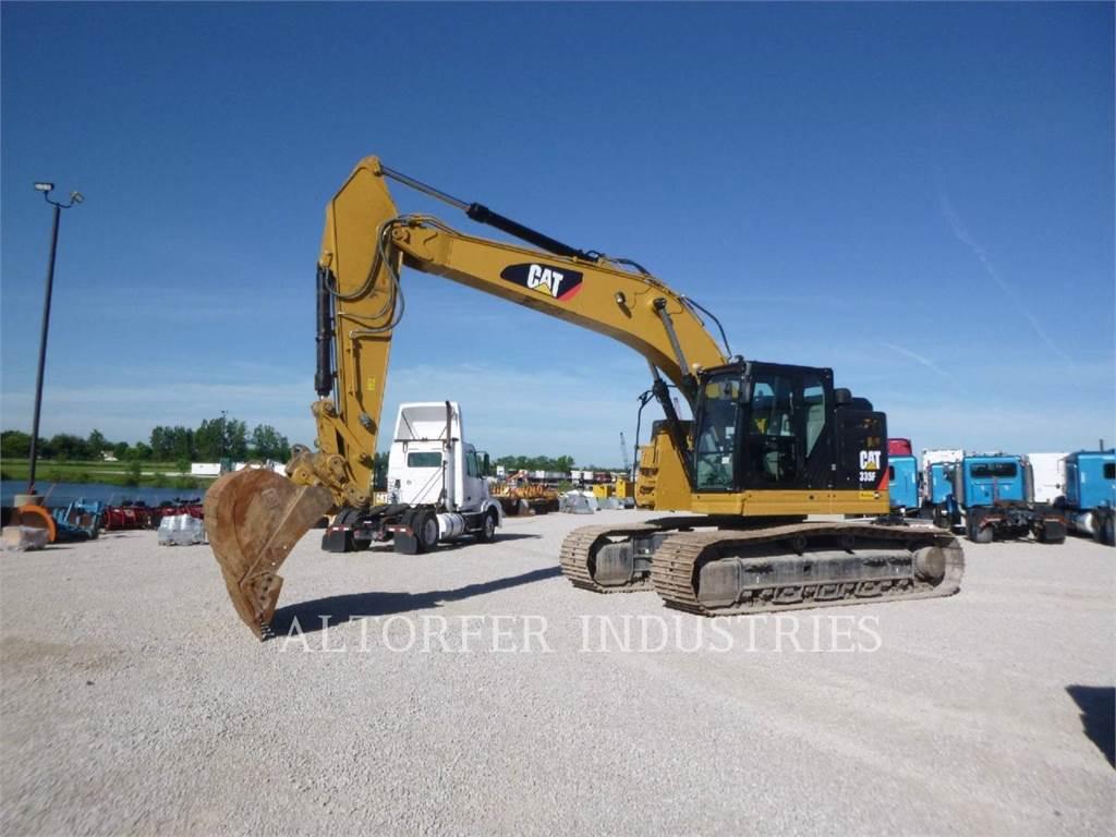 Caterpillar 335F HMR, Crawler Excavators, Construction
