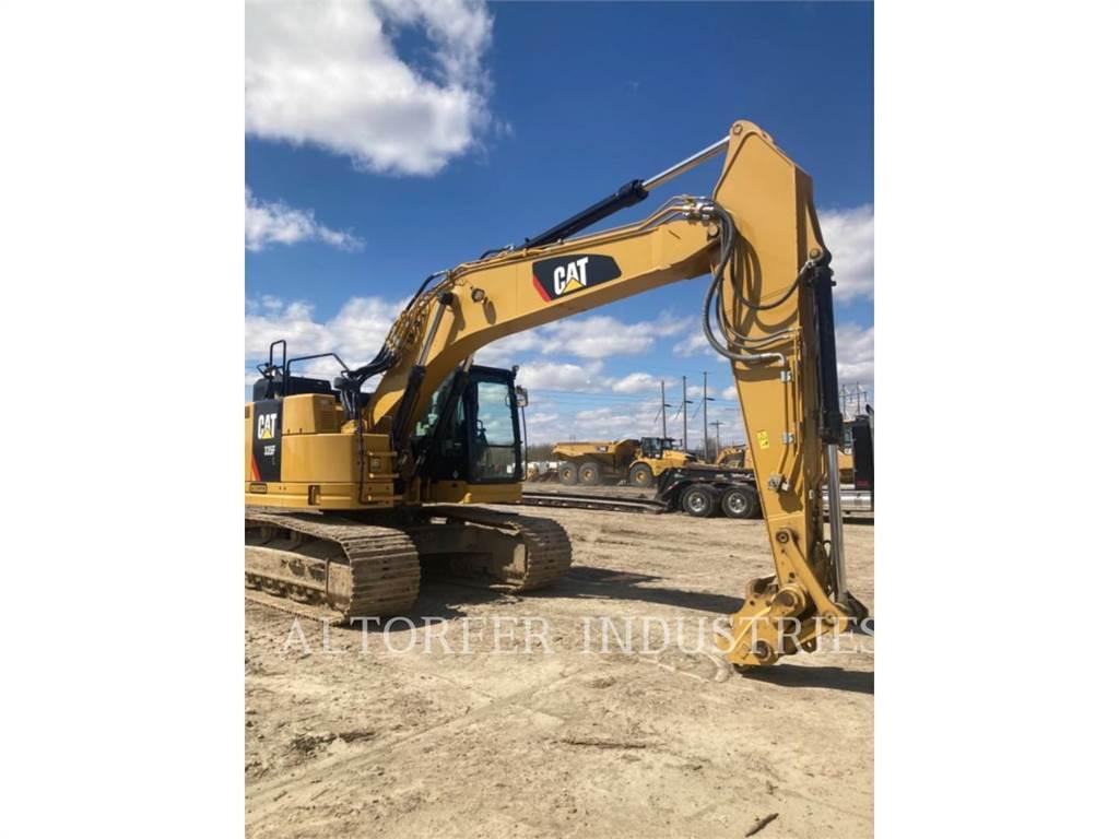 Caterpillar 335F LCR, Crawler Excavators, Construction