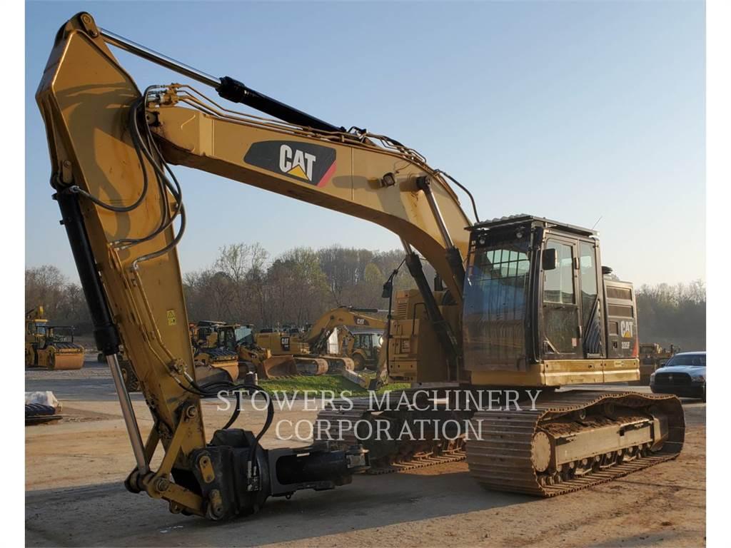 Caterpillar 335F MP, Crawler Excavators, Construction