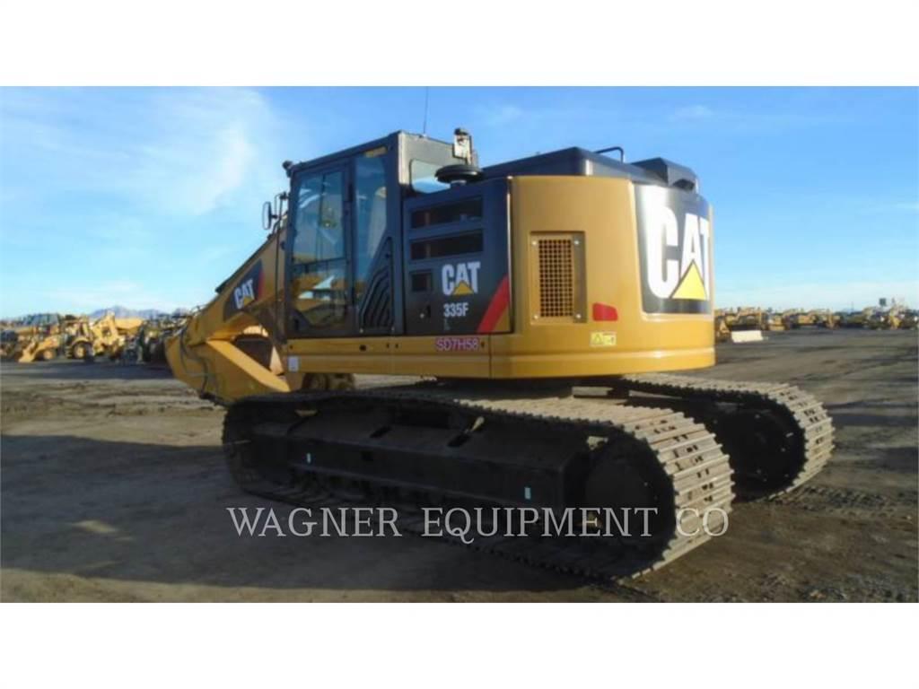Caterpillar 335FL CR, Crawler Excavators, Construction