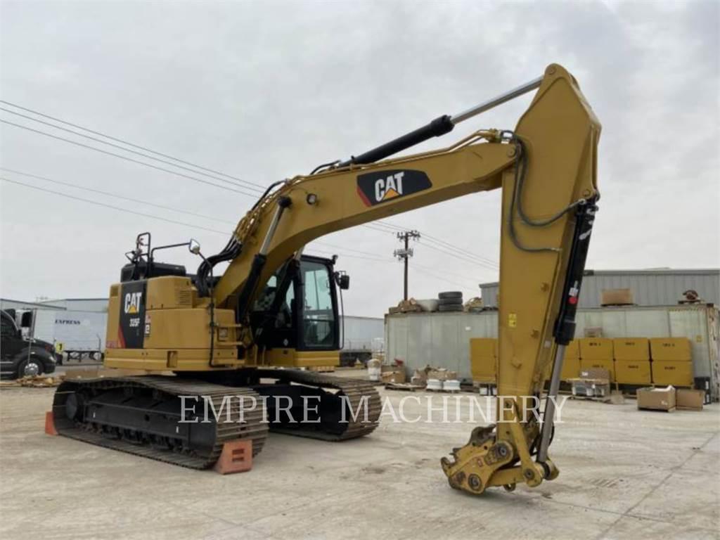 Caterpillar 335FL CR, Raupenbagger, Bau-Und Bergbauausrüstung