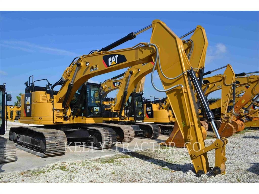 Caterpillar 335FLCR, Excavadoras de cadenas, Construcción