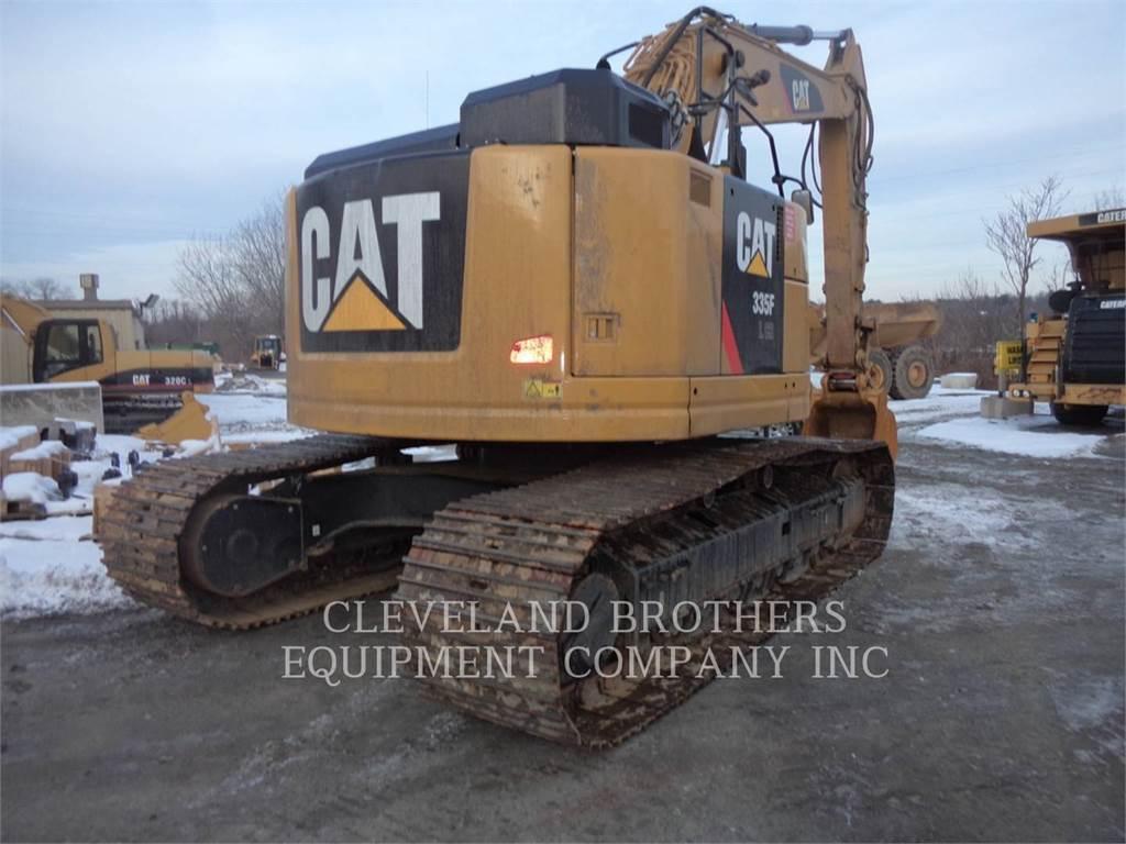 Caterpillar 335FLCR、クローラー式油圧ショベル(パワーショベル・ユンボ)、建設