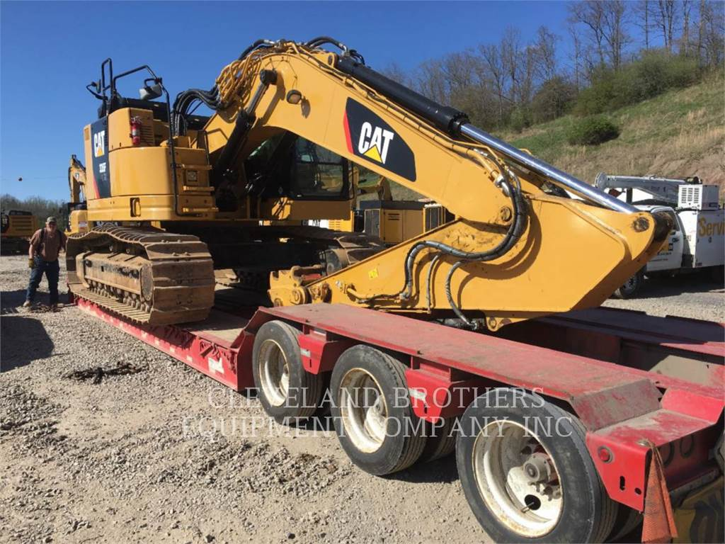 Caterpillar 335FLCR, Crawler Excavators, Construction