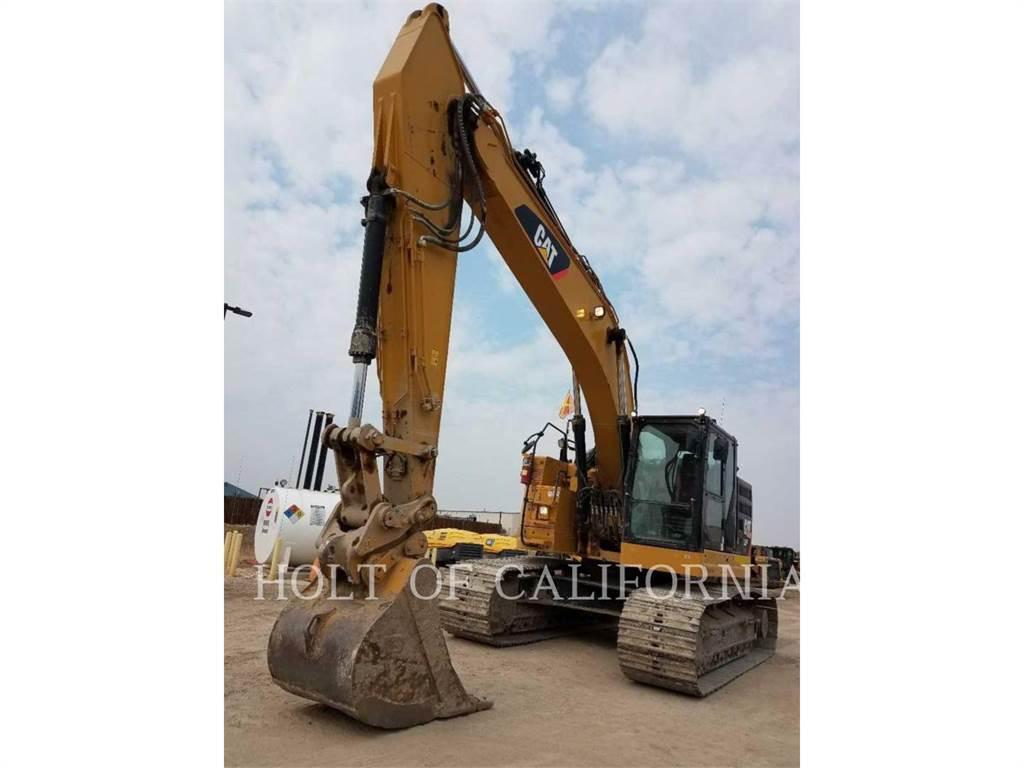 Caterpillar 335FLCR, Pelle sur chenilles, Équipement De Construction