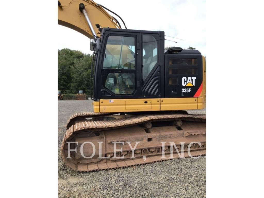 Caterpillar 335FLCR, Crawler Excavators, Construction