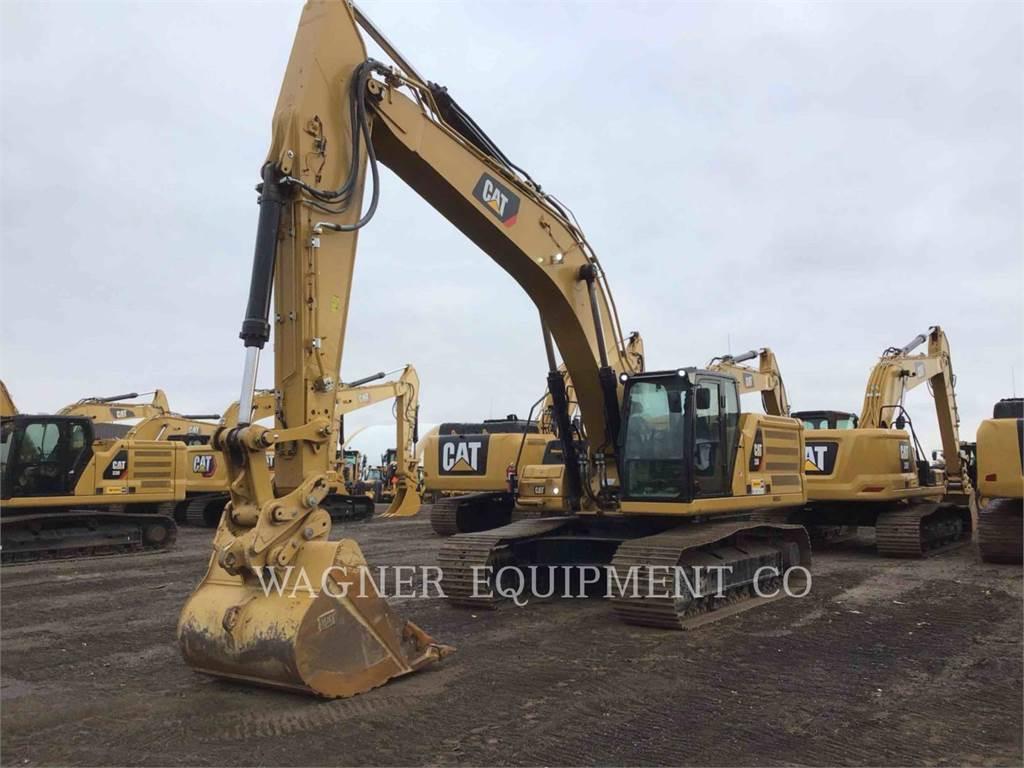 Caterpillar 336, Escavadoras de rastos, Equipamentos Construção