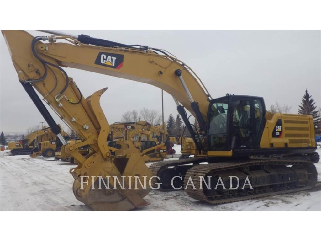 Caterpillar 336-07, Escavadoras de rastos, Equipamentos Construção