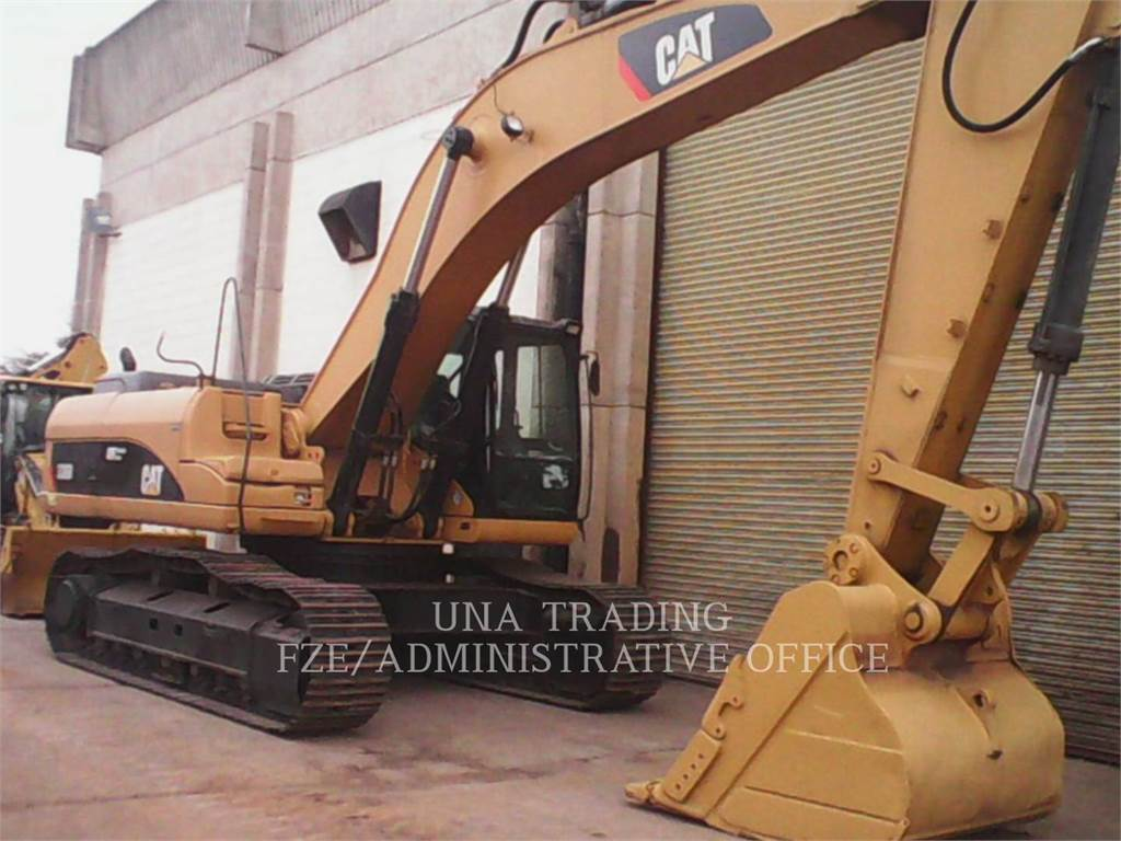 Caterpillar 336 D, Crawler Excavators, Construction
