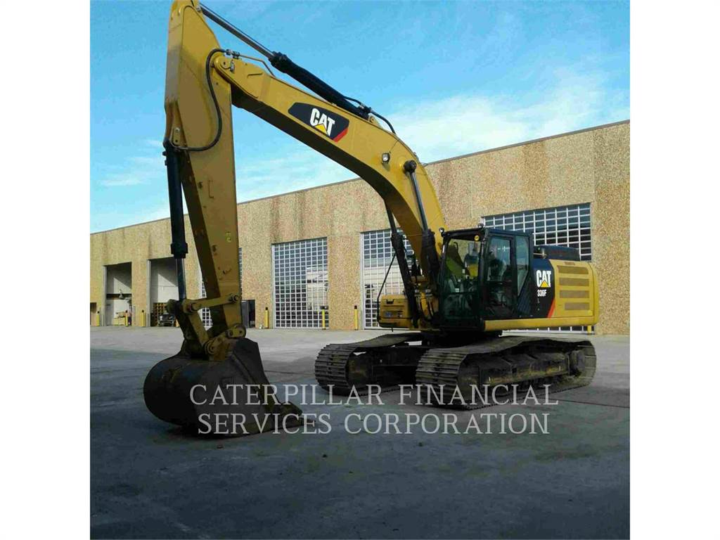 Caterpillar 336 F L, Crawler Excavators, Construction