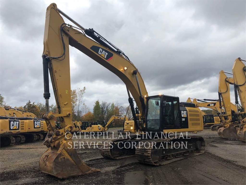 Caterpillar 336 F L, Raupenbagger, Bau-Und Bergbauausrüstung