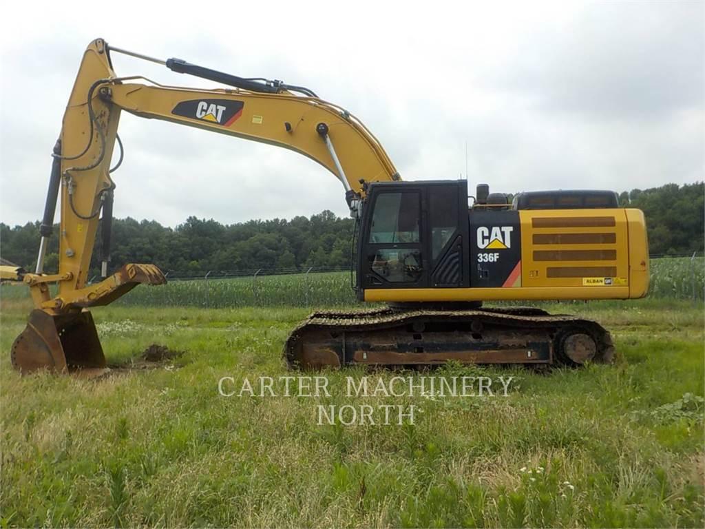 Caterpillar 336 FL, Excavatoare pe senile, Constructii