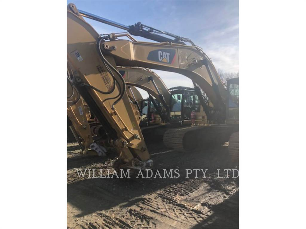 Caterpillar 336D, Crawler Excavators, Construction