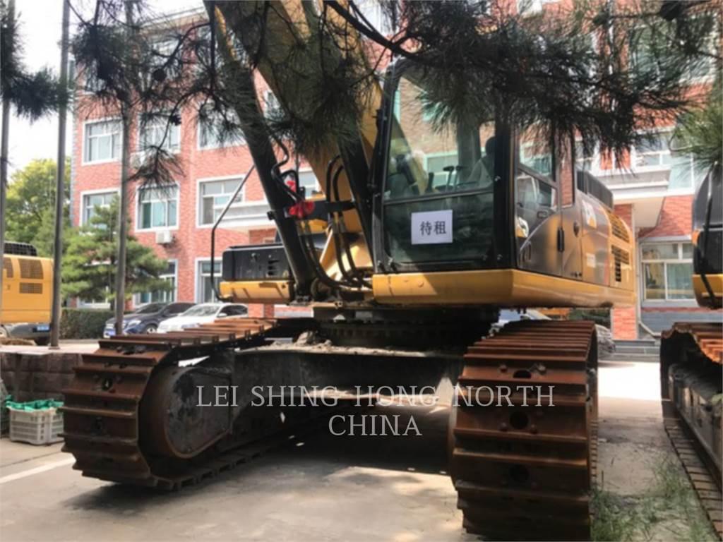 Caterpillar 336D2, Excavatoare pe senile, Constructii