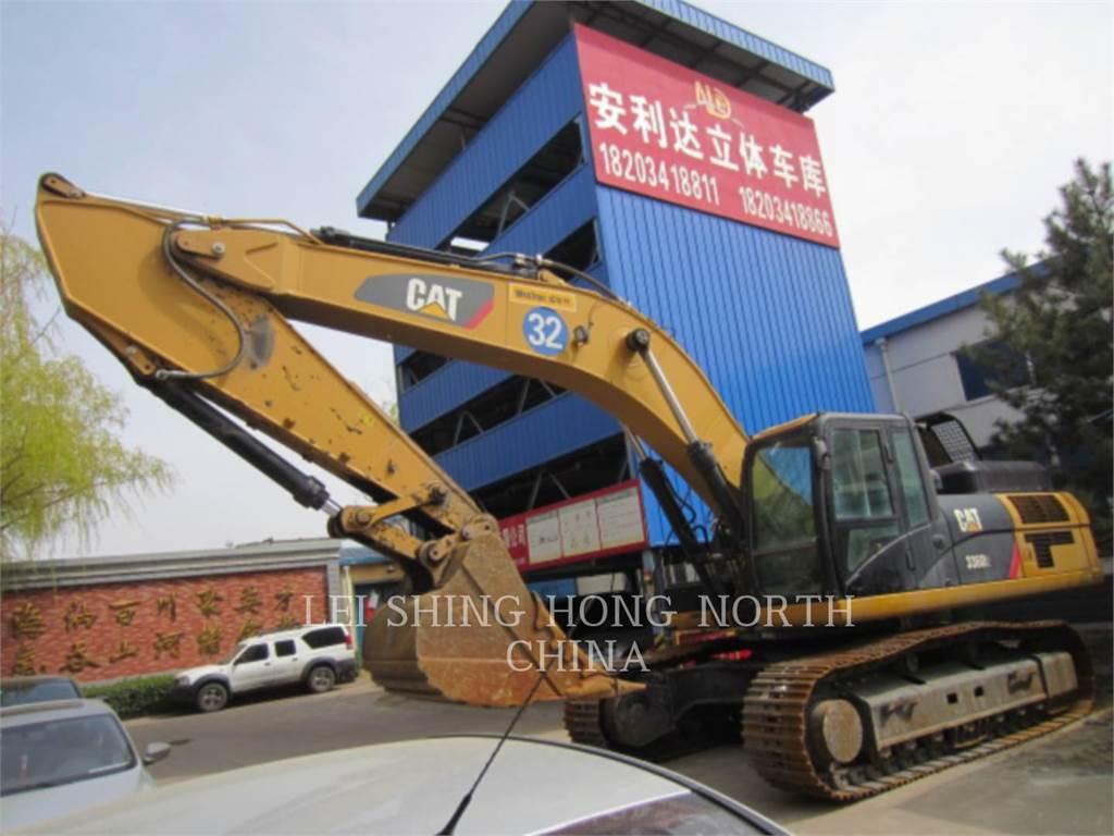 Caterpillar 336D2, Excavadoras de cadenas, Construcción