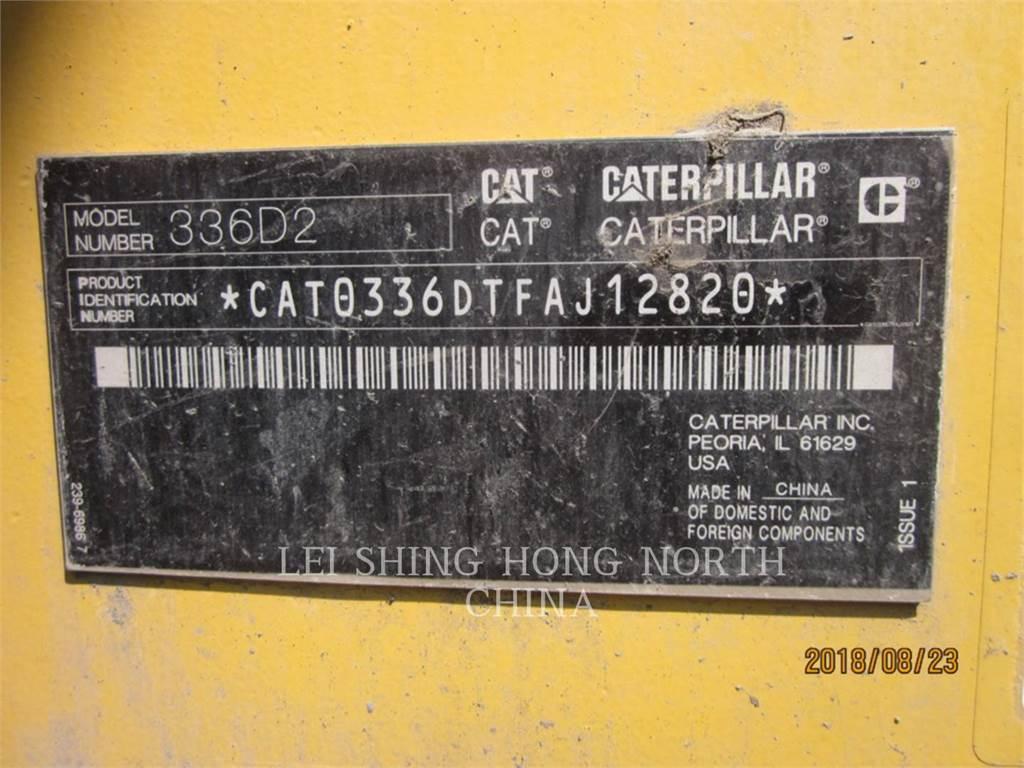 Caterpillar 336D2、履带挖掘机、建筑设备