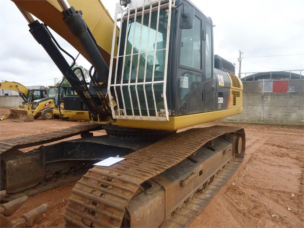 Caterpillar 336D2L, Excavadoras de cadenas, Construcción