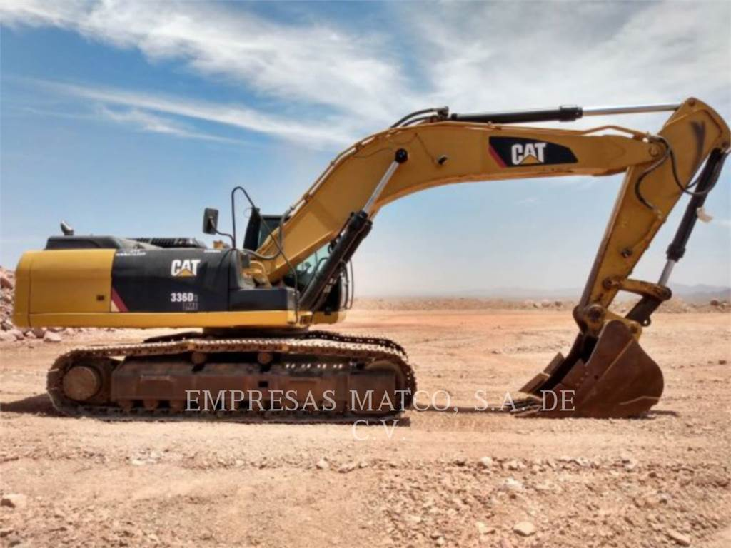 Caterpillar 336D2L, Escavatori cingolati, Attrezzature Da Costruzione