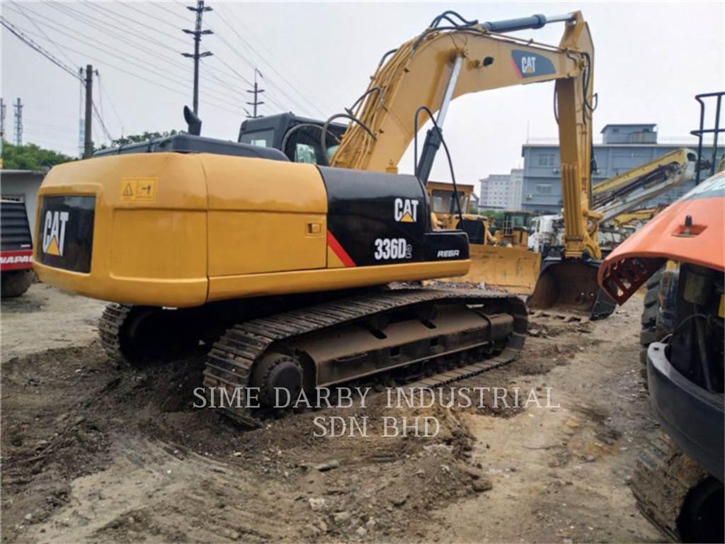 Caterpillar 336D2L, Pelle sur chenilles, Équipement De Construction