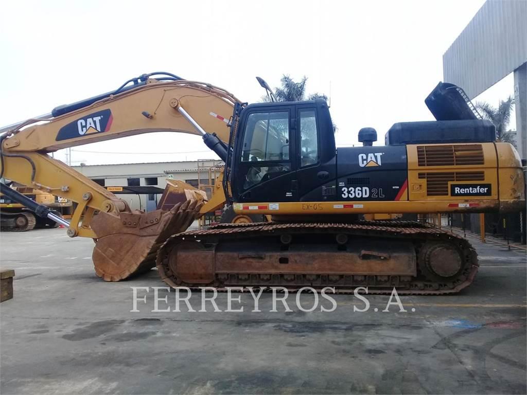 Caterpillar 336D2L, Excavatoare pe senile, Constructii