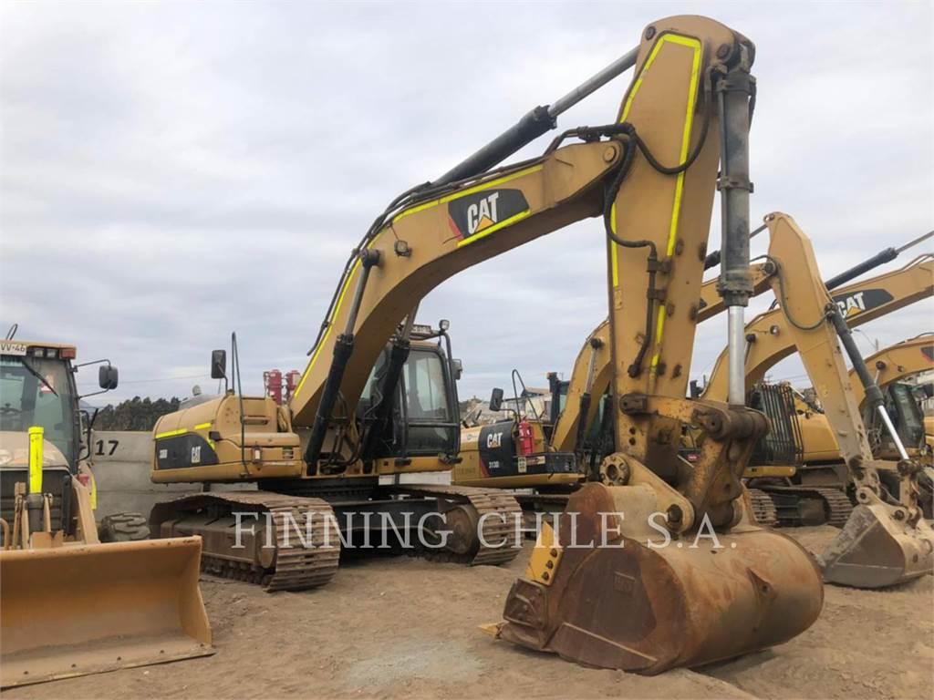 Caterpillar 336DL, Excavadoras de cadenas, Construcción
