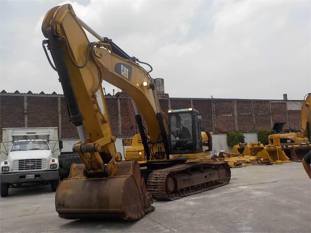 Caterpillar 336DL, Crawler Excavators, Construction