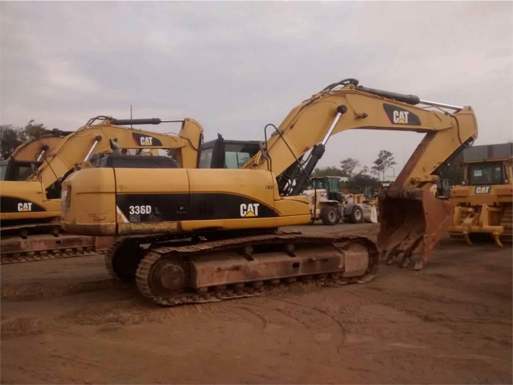 Caterpillar 336DL、クローラー式油圧ショベル(パワーショベル・ユンボ)、建設