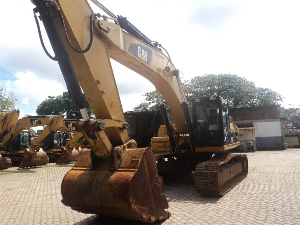 Caterpillar 336DL, Crawler Excavators, Construction