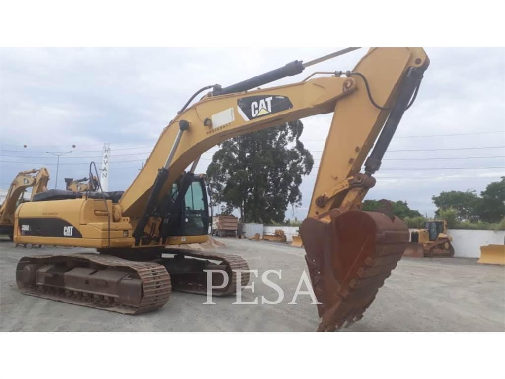 Caterpillar 336DL, Excavatoare pe senile, Constructii