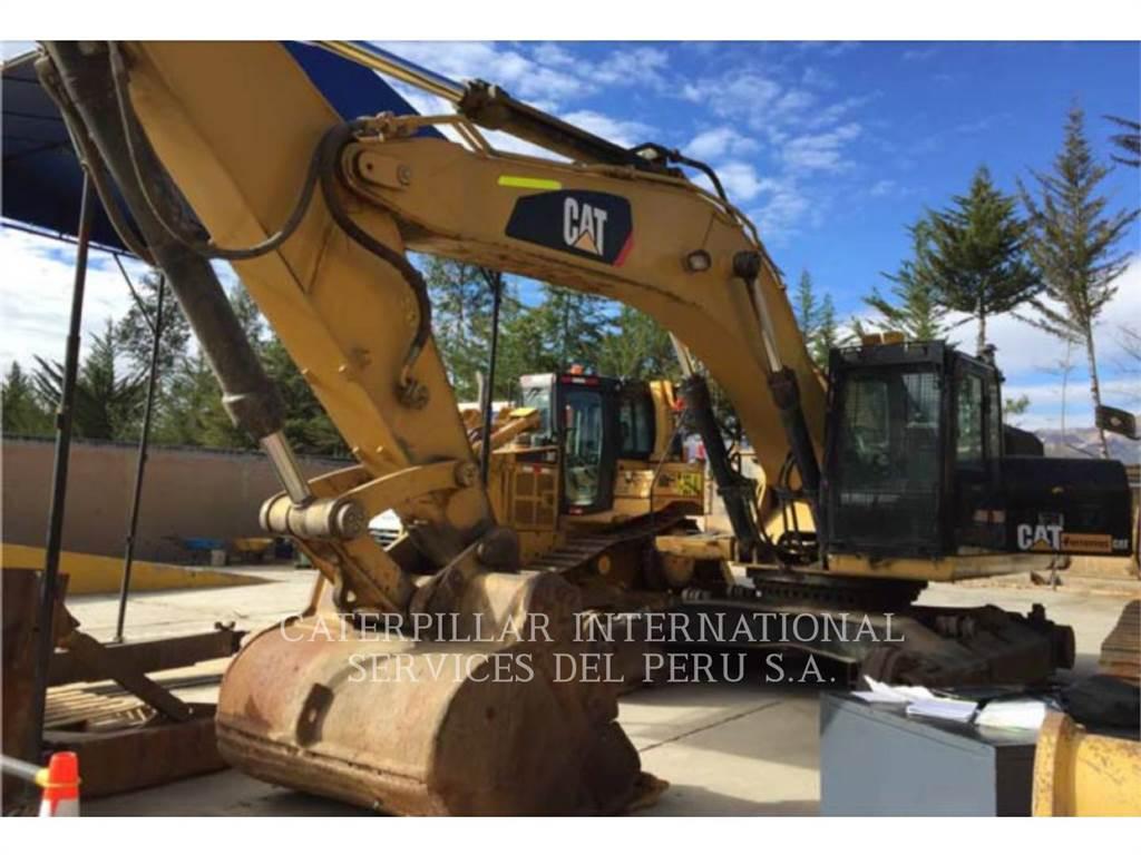 Caterpillar 336DL、履带挖掘机、建筑设备