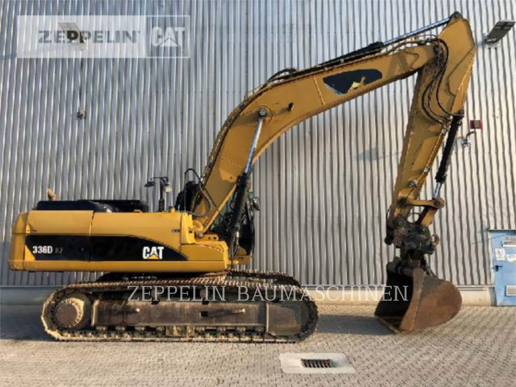 Caterpillar 336DLN, Crawler Excavators, Construction