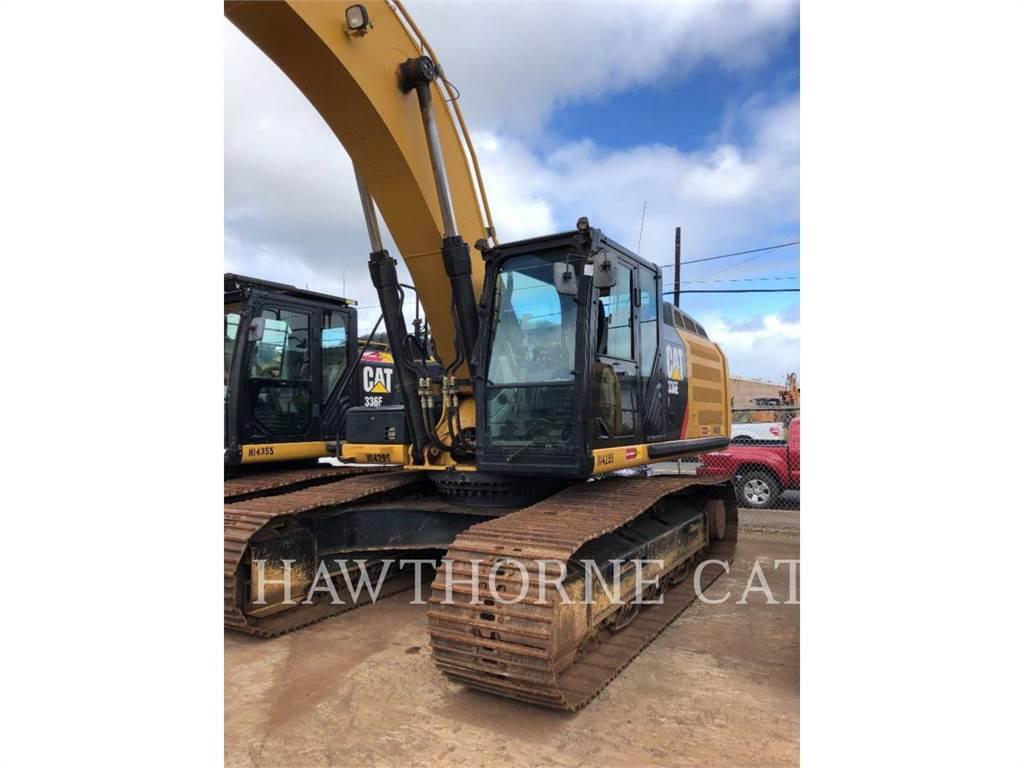 Caterpillar 336E, Escavadoras de rastos, Equipamentos Construção