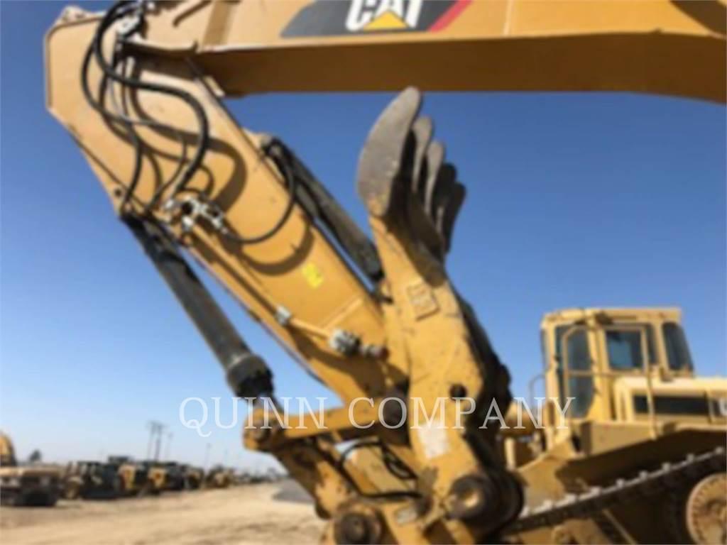 Caterpillar 336E, Excavatoare pe senile, Constructii