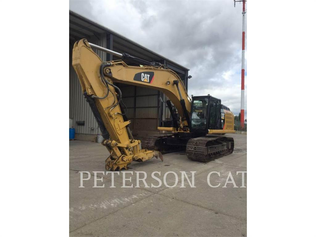 Caterpillar 336E BIO, Crawler Excavators, Construction