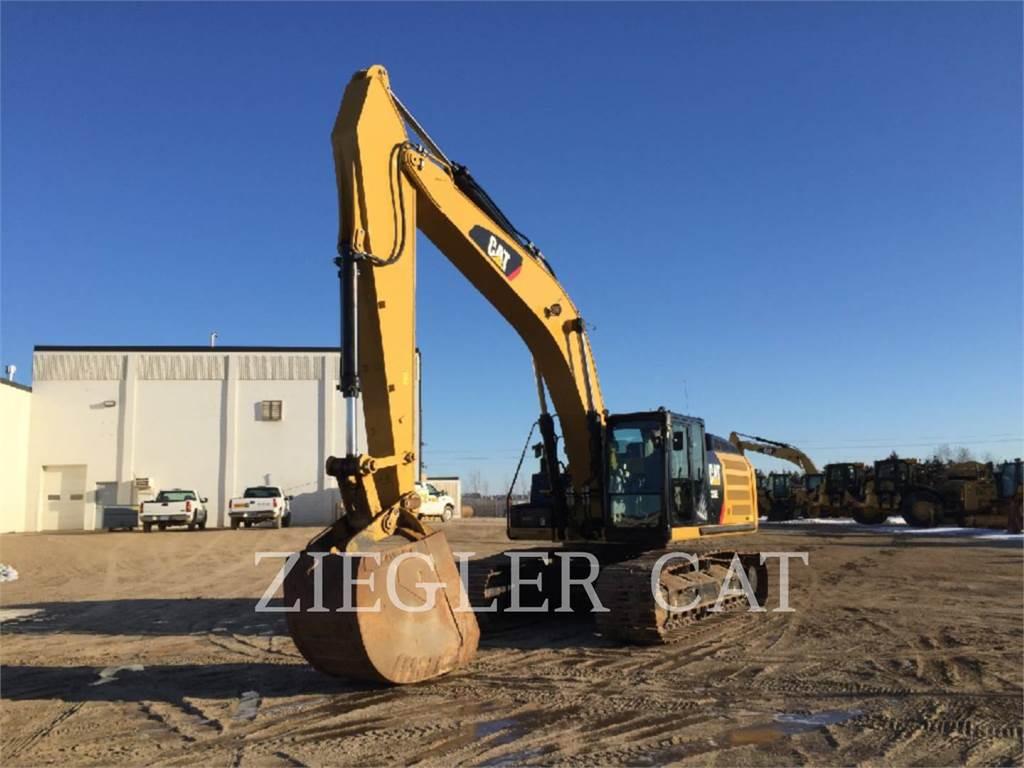 Caterpillar 336E, Raupenbagger, Bau-Und Bergbauausrüstung