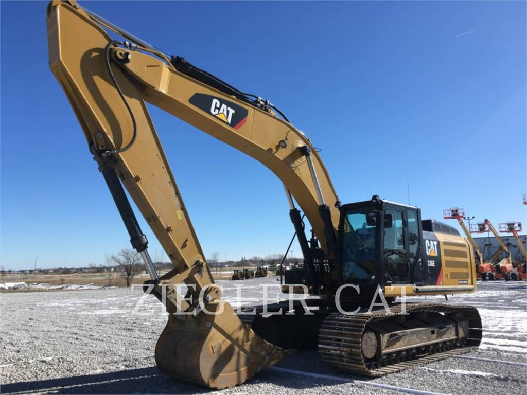 Caterpillar 336E, Crawler Excavators, Construction
