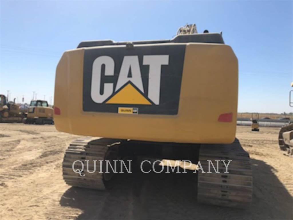 Caterpillar 336E, Crawler Excavators, Construction