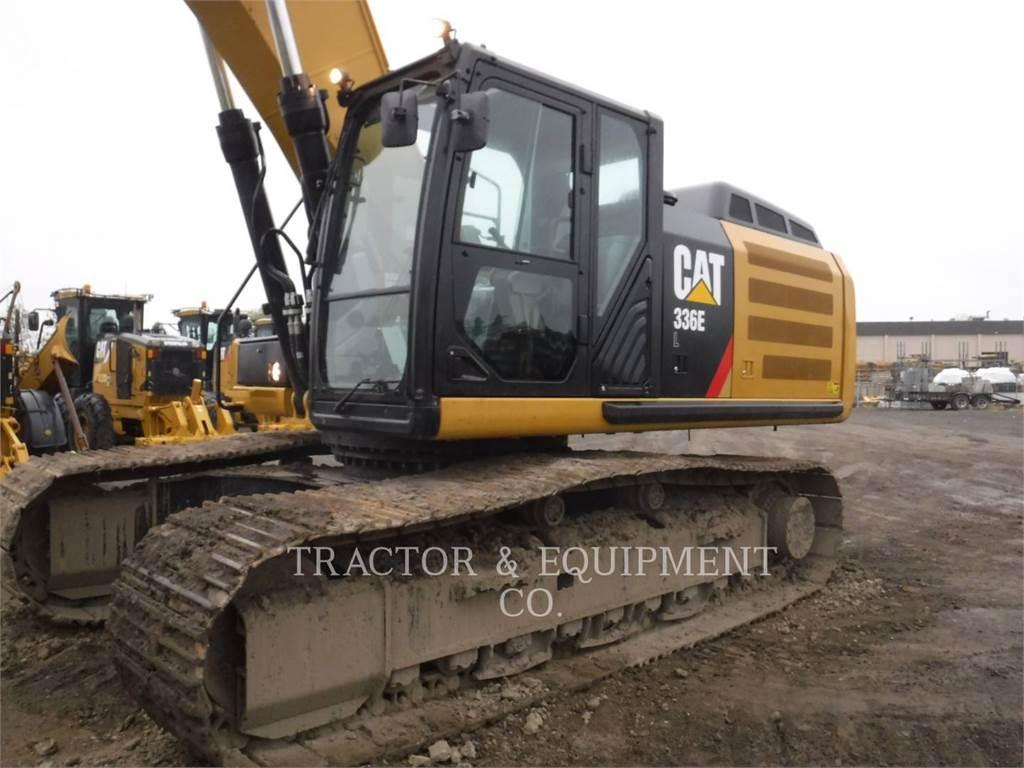 Caterpillar 336E L, Crawler Excavators, Construction