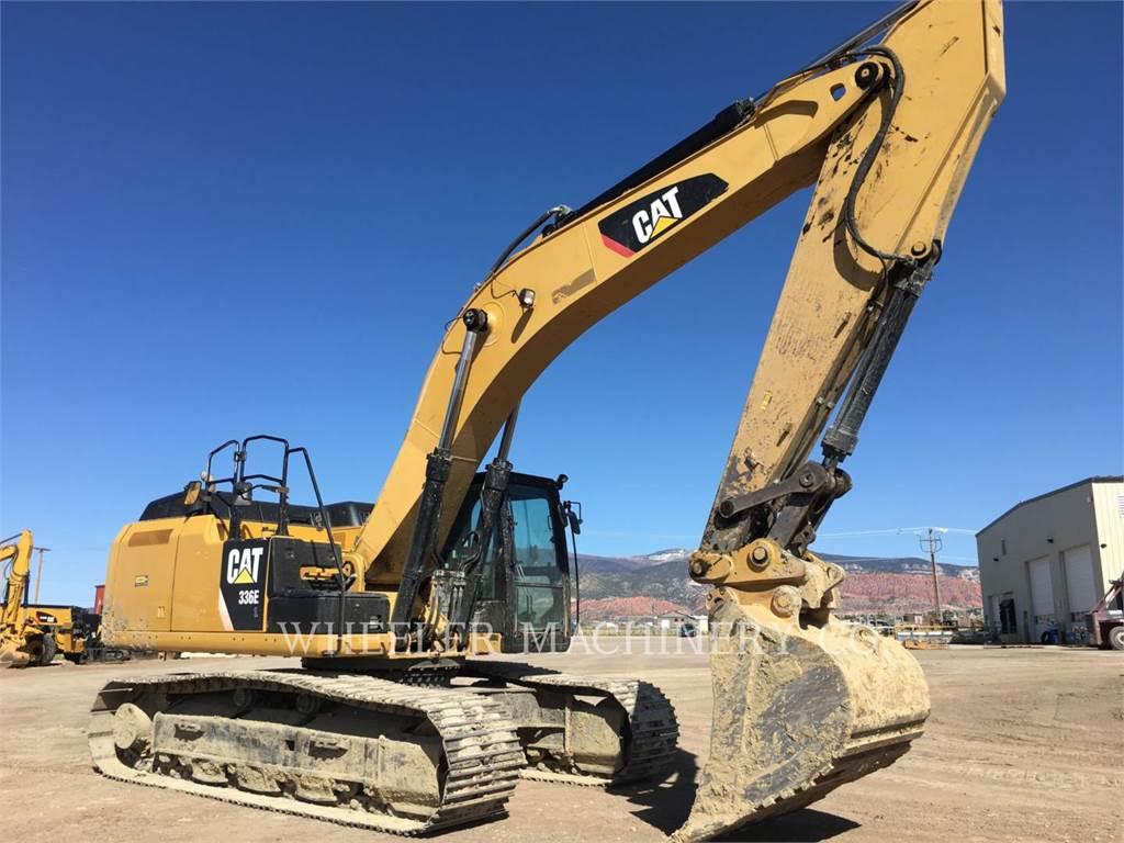 Caterpillar 336E L, Excavadoras de cadenas, Construcción