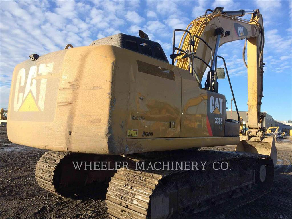 Caterpillar 336E LH CF, Crawler Excavators, Construction