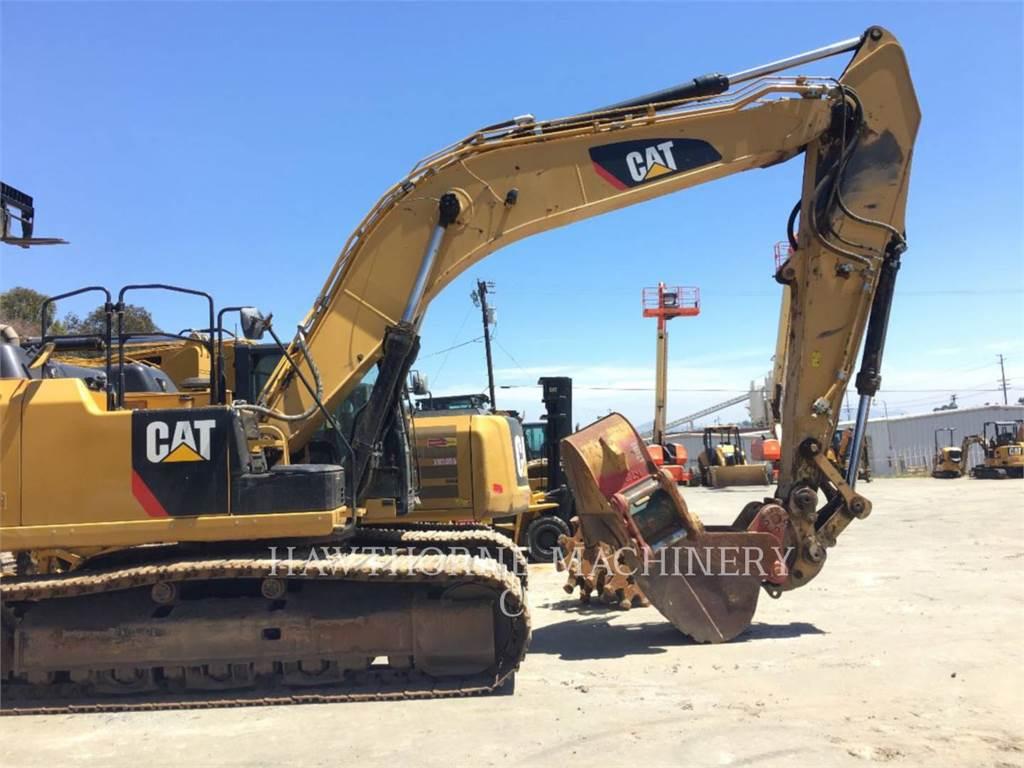 Caterpillar 336E TH, Crawler Excavators, Construction