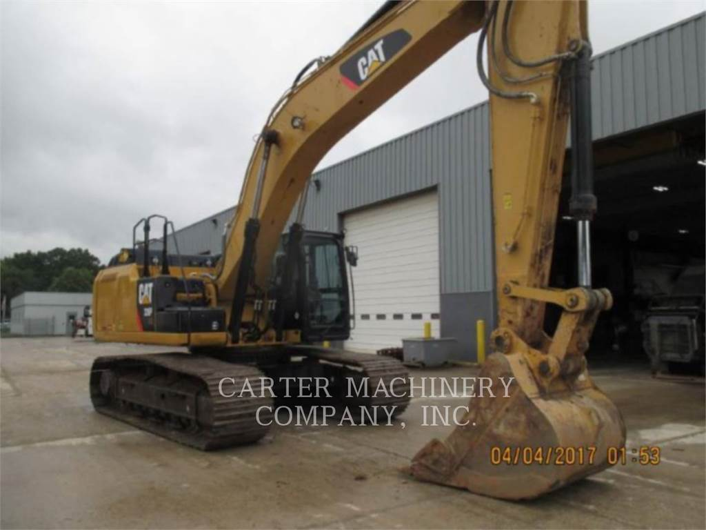 Caterpillar 336EH 12CF, Crawler Excavators, Construction