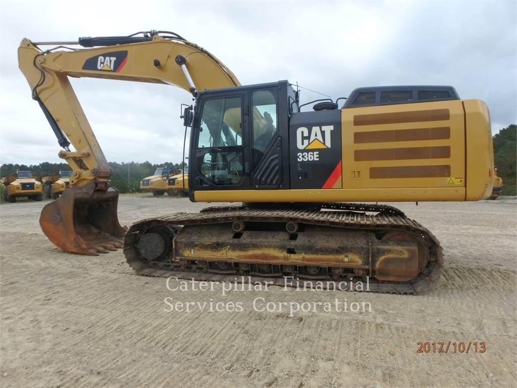 Caterpillar 336EL, Koparki gąsienicowe, Sprzęt budowlany