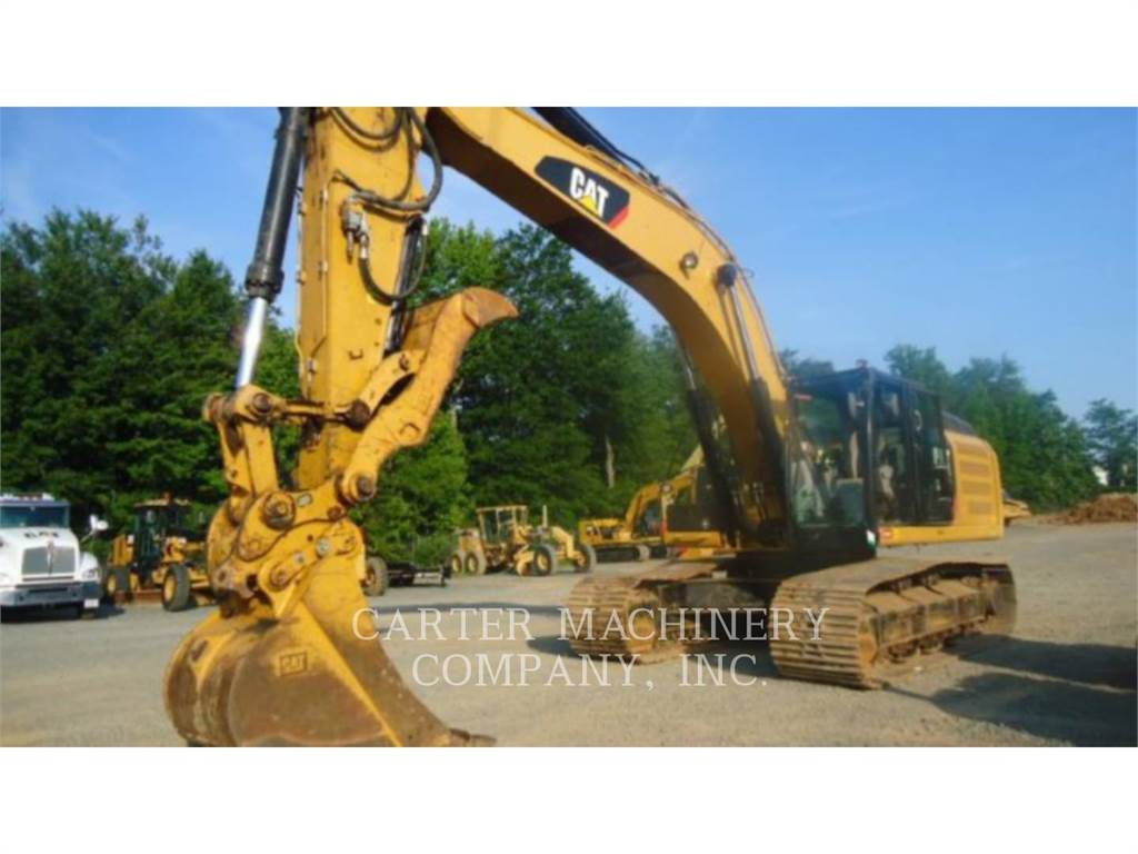 Caterpillar 336EL, Crawler Excavators, Construction