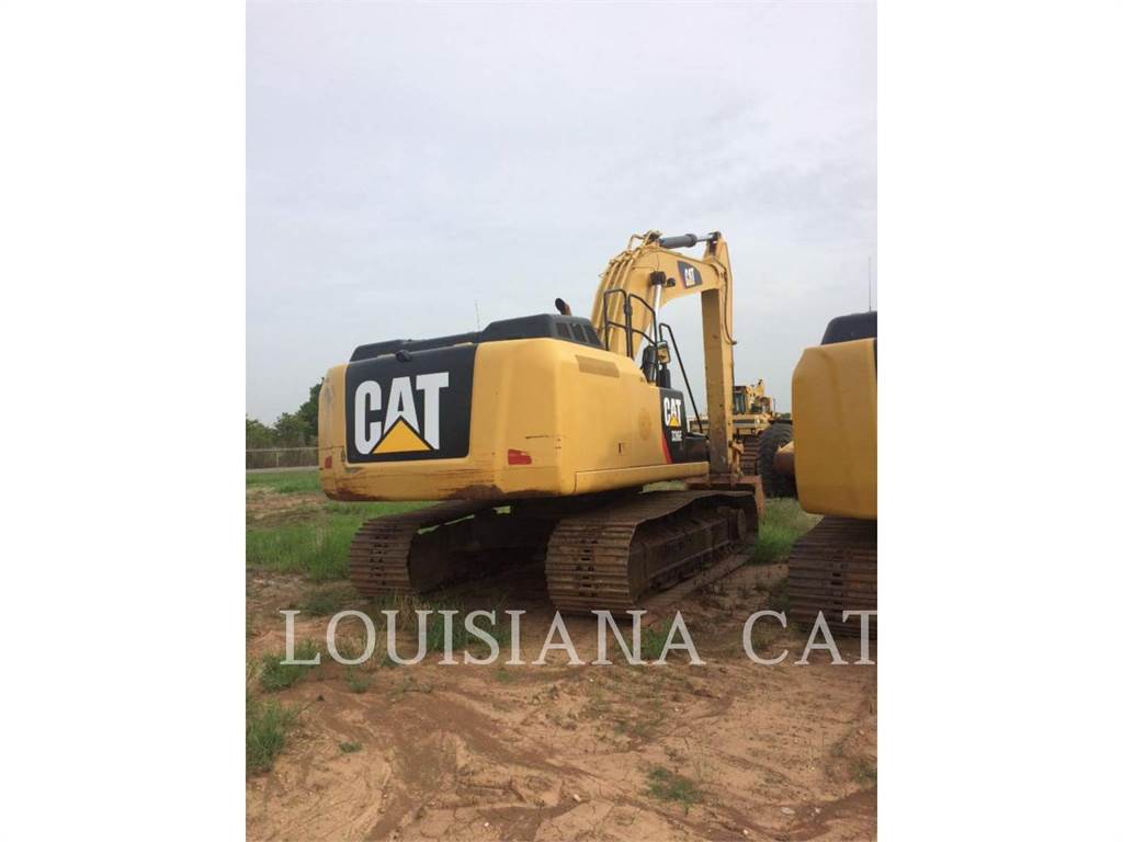 Caterpillar 336EL, Excavatoare pe senile, Constructii