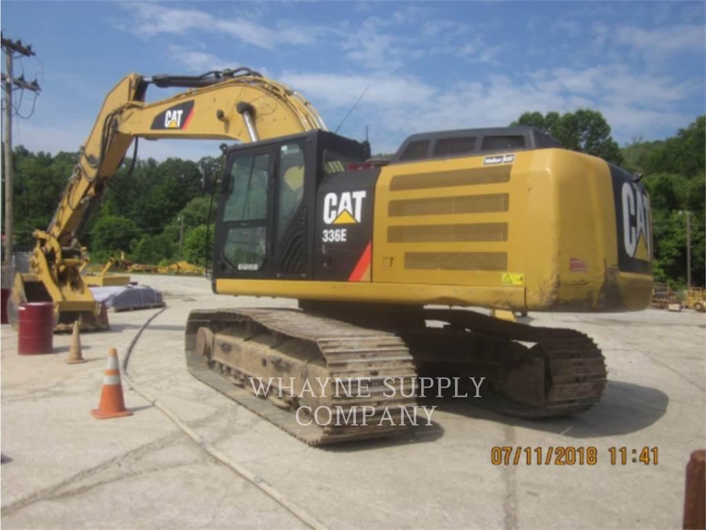 Caterpillar 336EL, Crawler Excavators, Construction