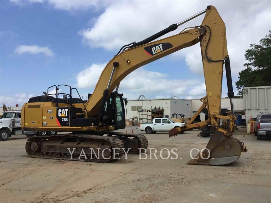 Caterpillar 336EL, Escavadoras de rastos, Equipamentos Construção