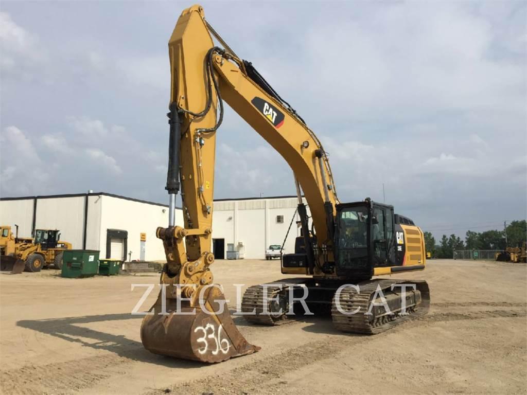 Caterpillar 336EL、履带挖掘机、建筑设备