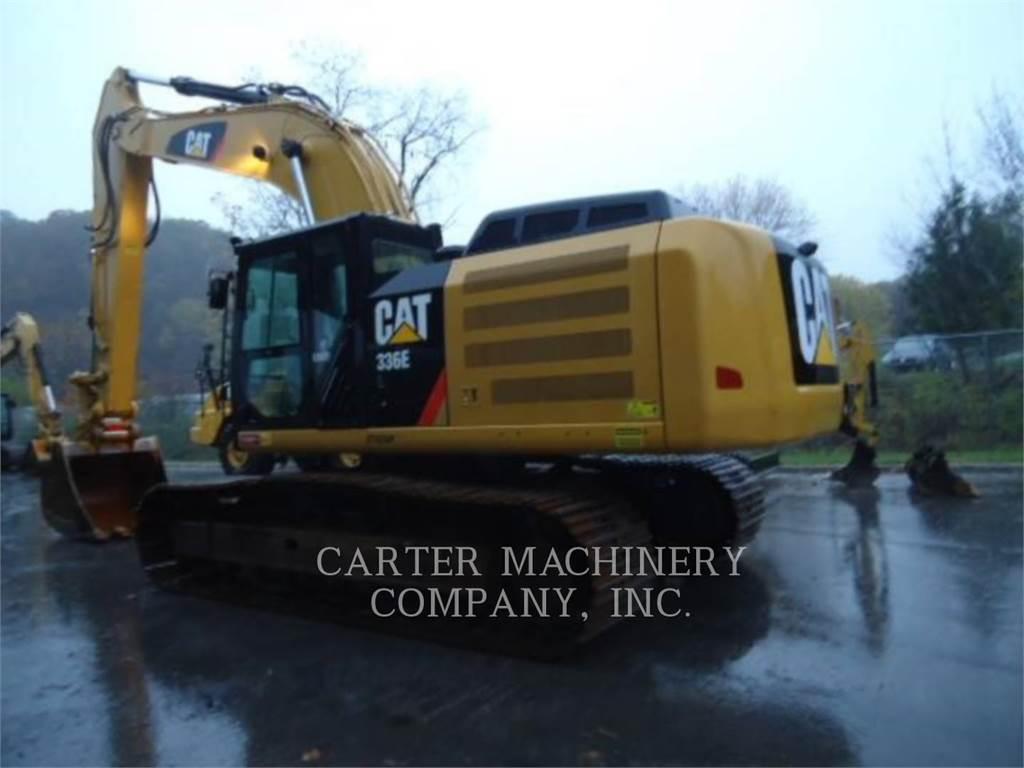 Caterpillar 336EL 12CF, Excavadoras de cadenas, Construcción