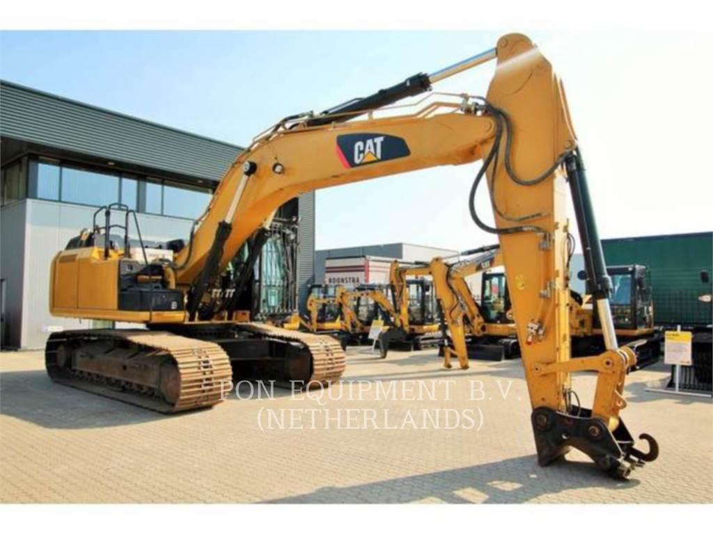 Caterpillar 336EL, Pelle sur chenilles, Équipement De Construction